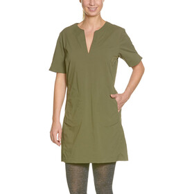 Tatonka Gora Dress Women bark green